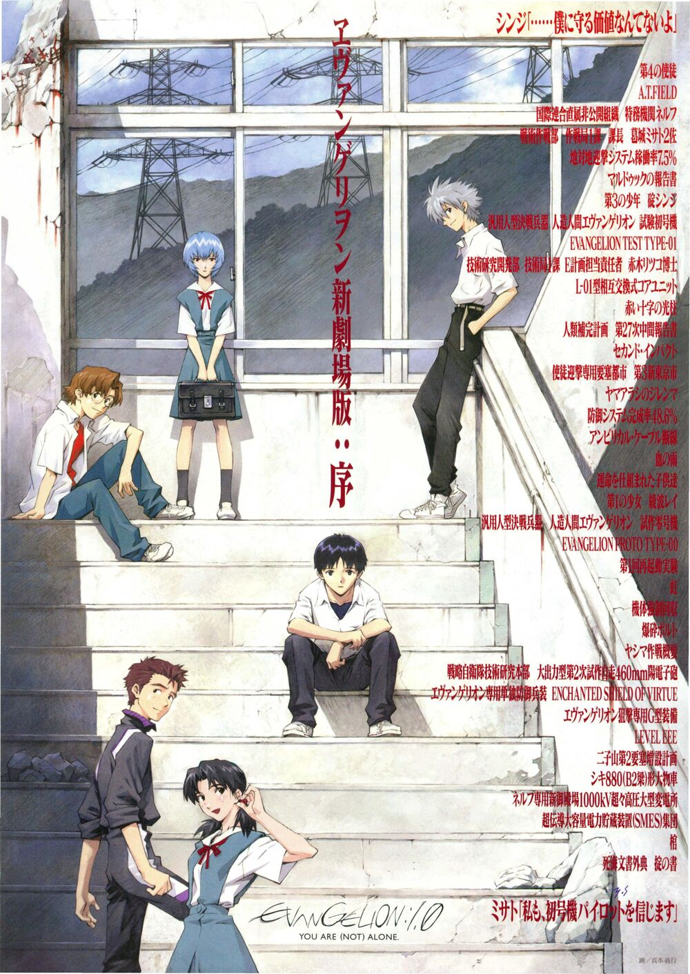 Featured image for Evangelion: 1.11 You Are (Not) Alone