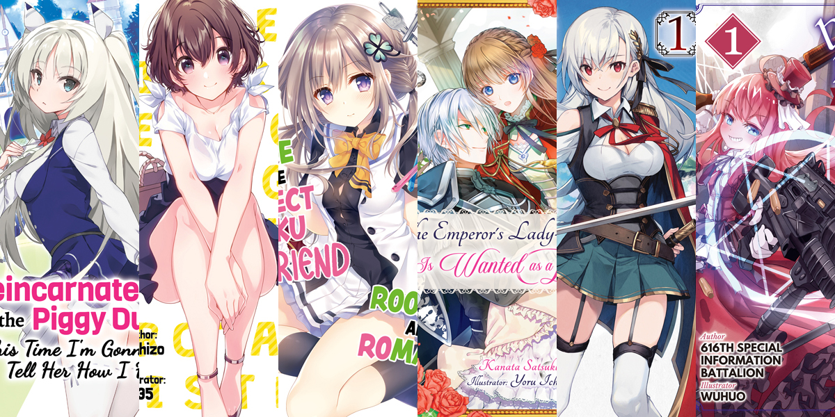 Featured image for J-Novel Club Announces the Acquisition of Six New Titles at April 2021 Livestream!