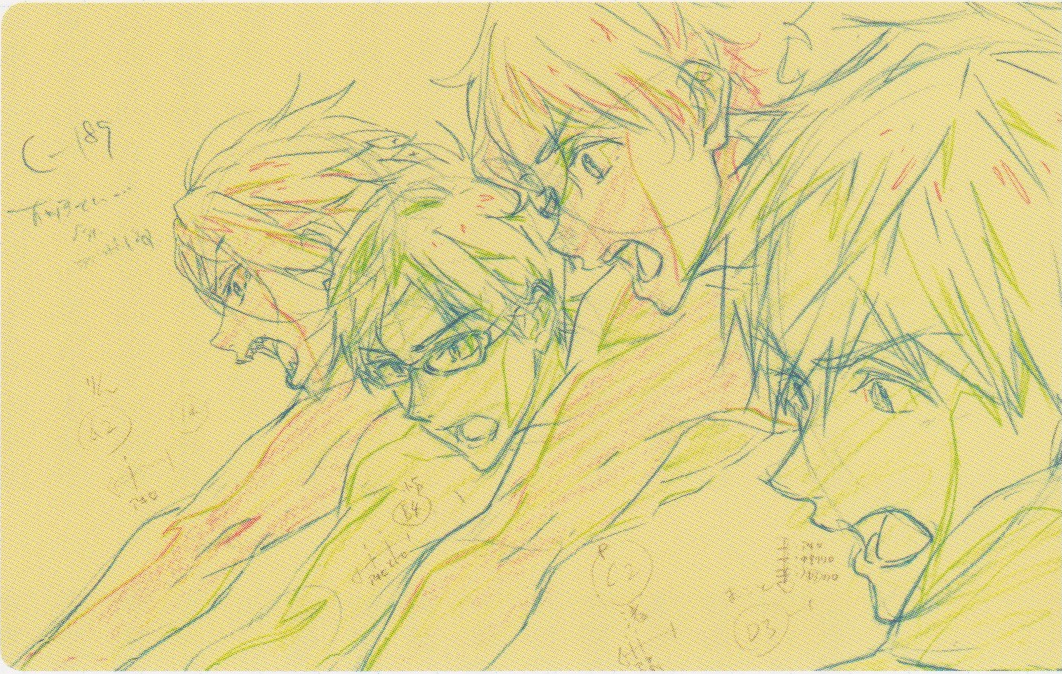 Featured image for Free! Timeless Medley Roundtable #1: Hand-drawn Animation Staff