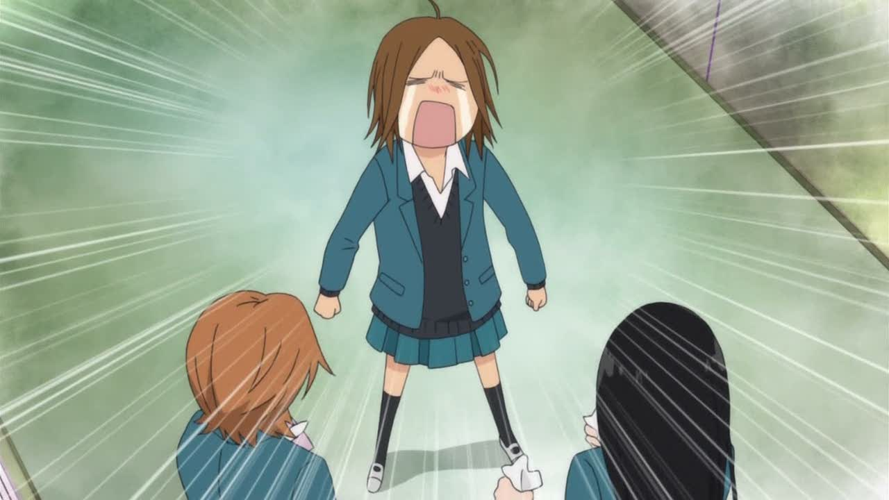 Featured image for Kimi ni Todoke 20 review; Chizu coming to terms with her disappointment.