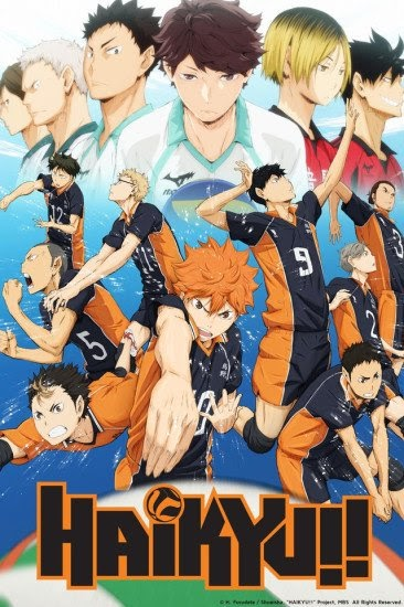Featured image for Review of Haikyuu!!