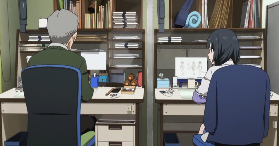 Featured image for 12 Days of Anime Teachers--#3: Shirobako Senpais