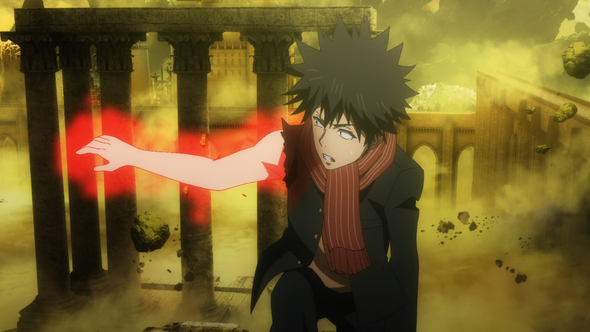 Featured image for What is inside Touma's right hand?