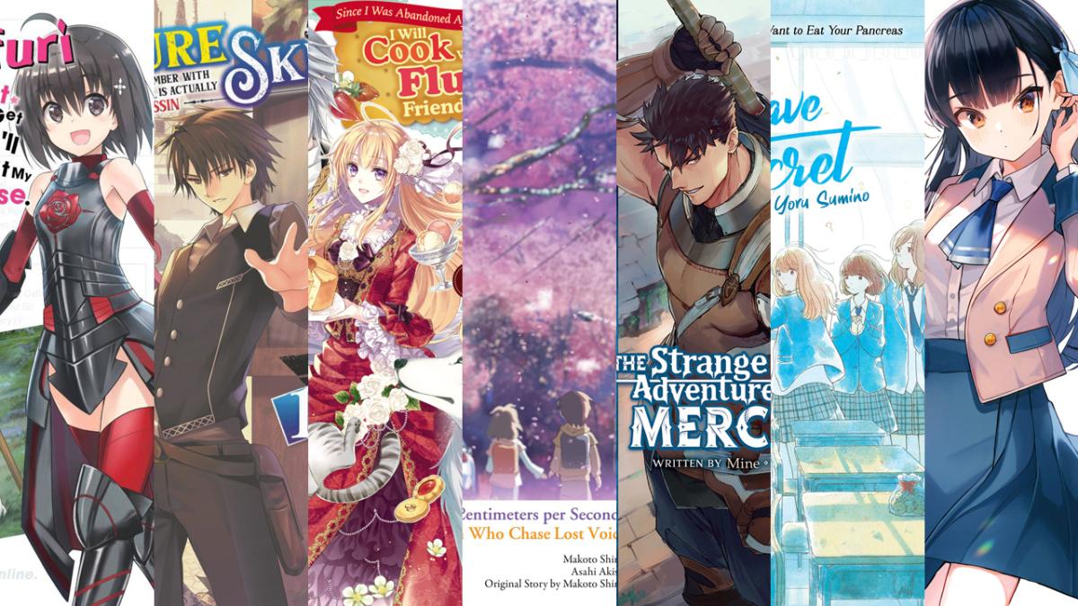 Featured image for Light Novel Debuts For April 2020