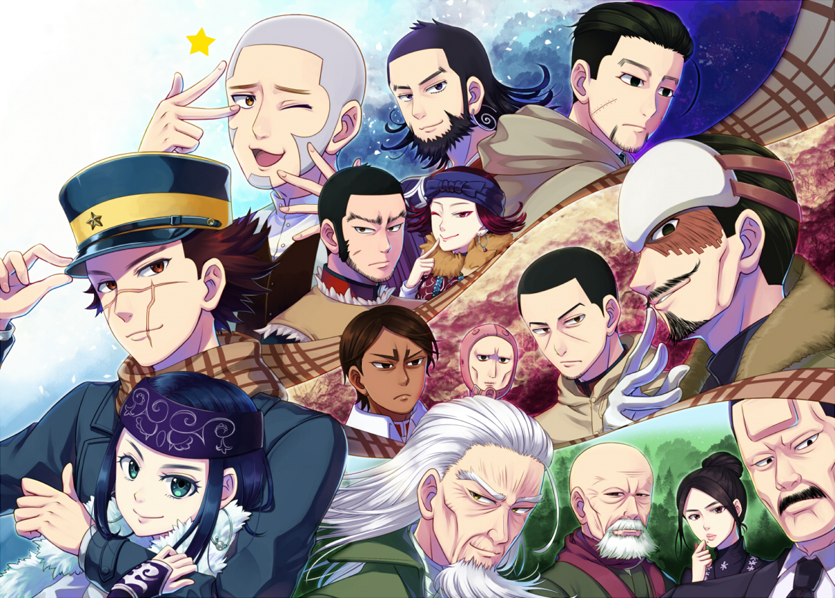 Featured image for Anime Review 186 Golden Kamuy