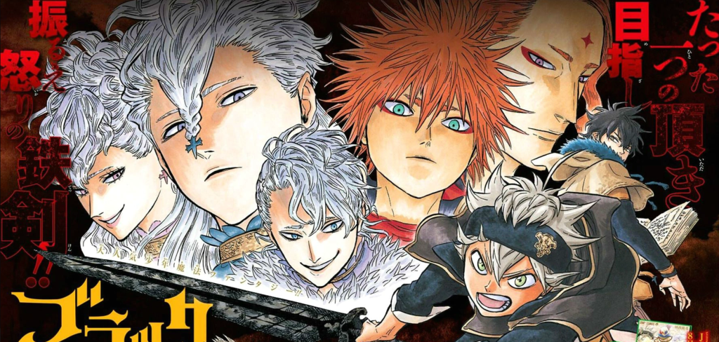 Featured image for The 5 Best and Most Interesting Moments from Black Clover Manga Volume 3