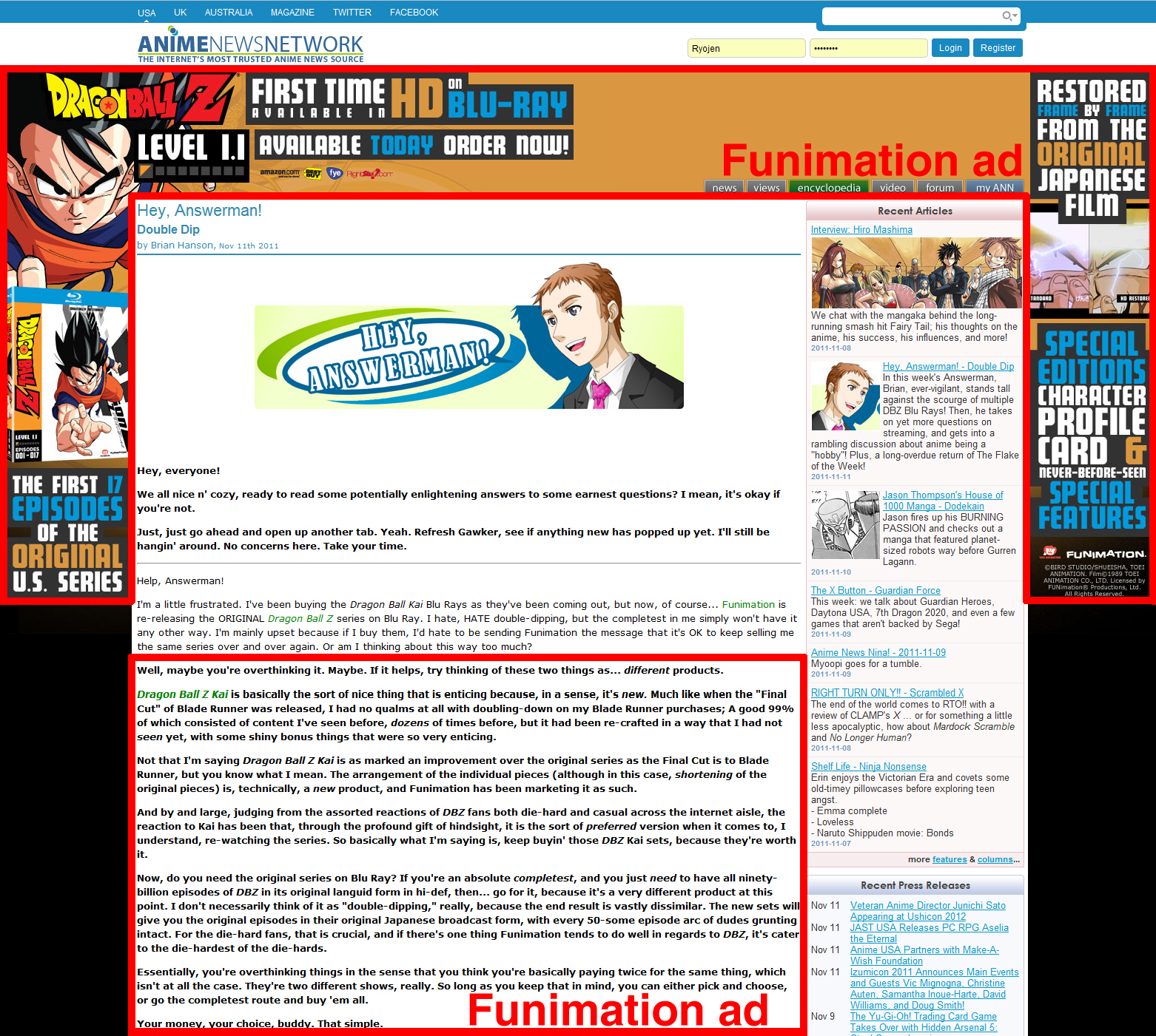 Featured image for Answerman the Advert-man