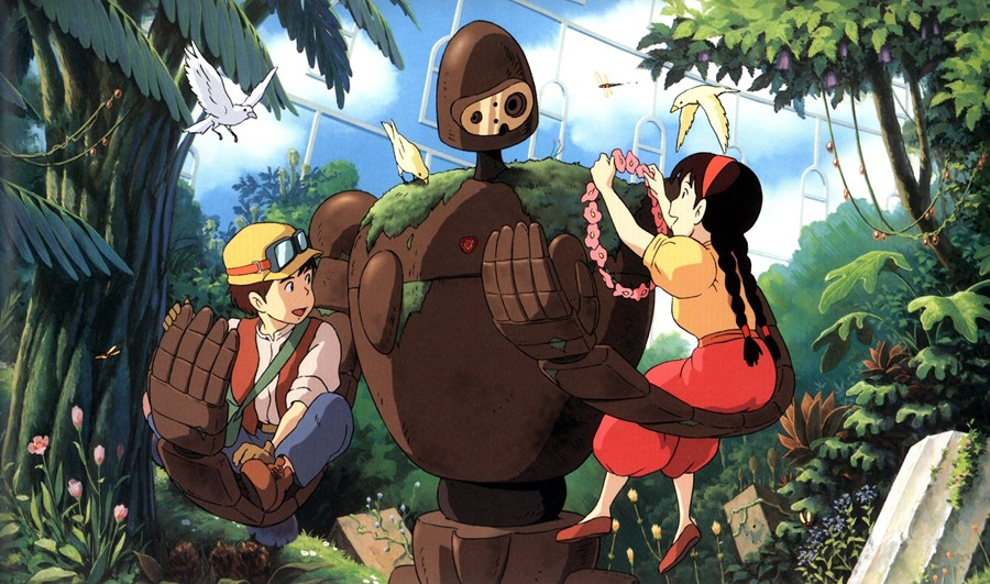 Featured image for Christmas Ghibli #1 – Laputa: Castle In The Sky