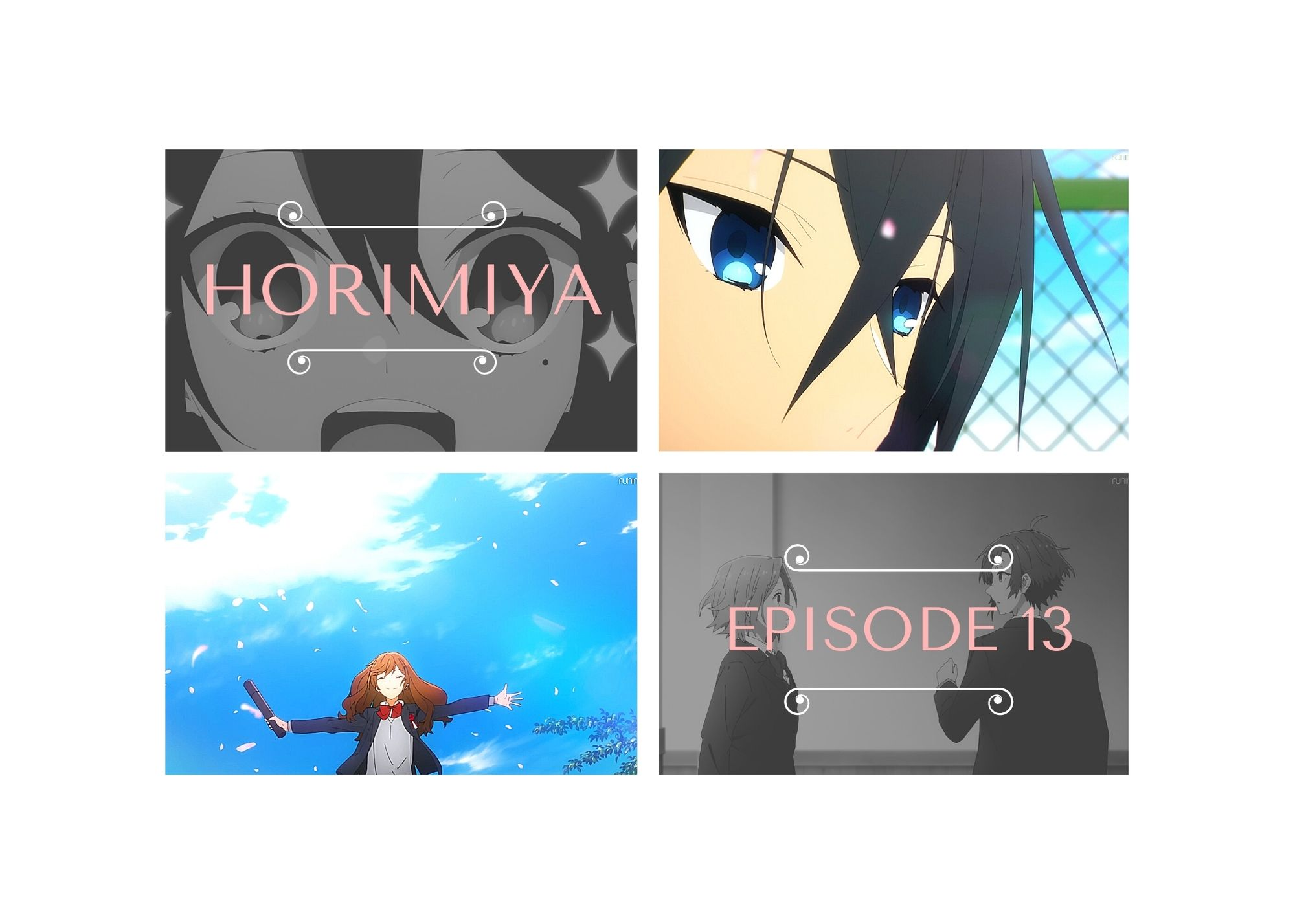 Featured image for Horimiya with IriMoya – episode 13 — I drink and watch anime