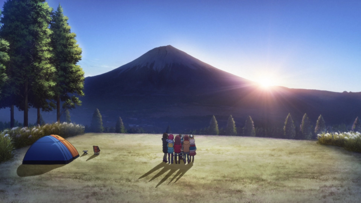 Featured image for The Calm of Yuru Camp