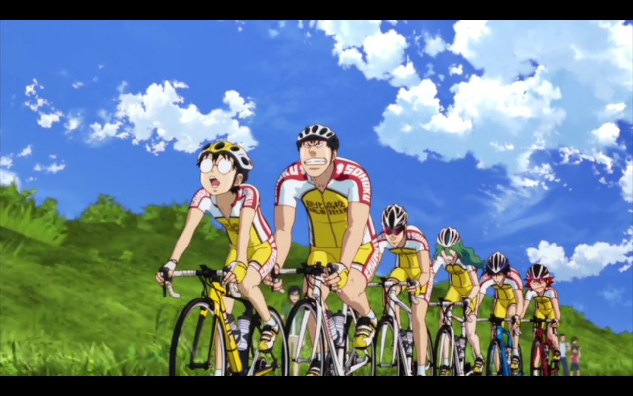 Featured image for Thoughts on  Yowamushi Pedal: The Movie