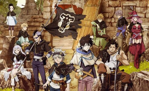 Featured image for Something Special – Black Clover Anime Review