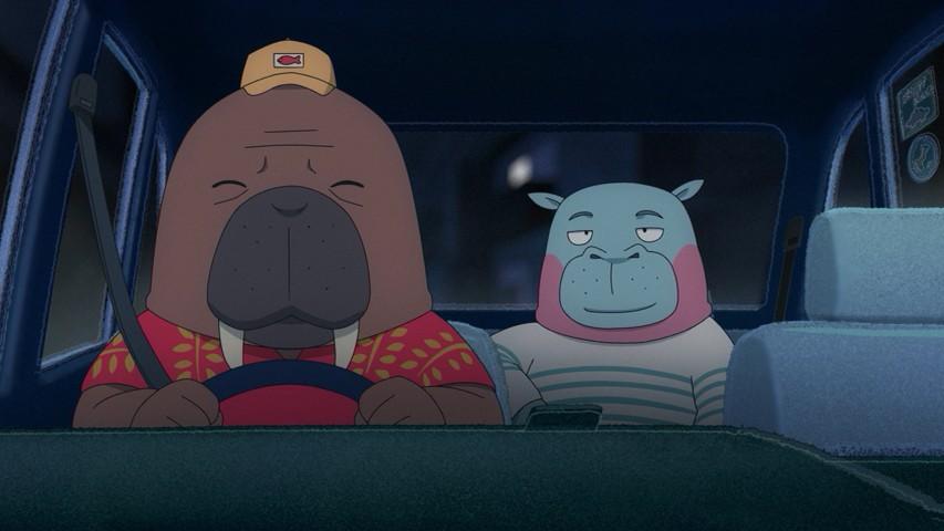 Featured image for First Impressions Digest – Hige o Soru. Soshite Joshi Kousei o Hiroo, Odd Taxi