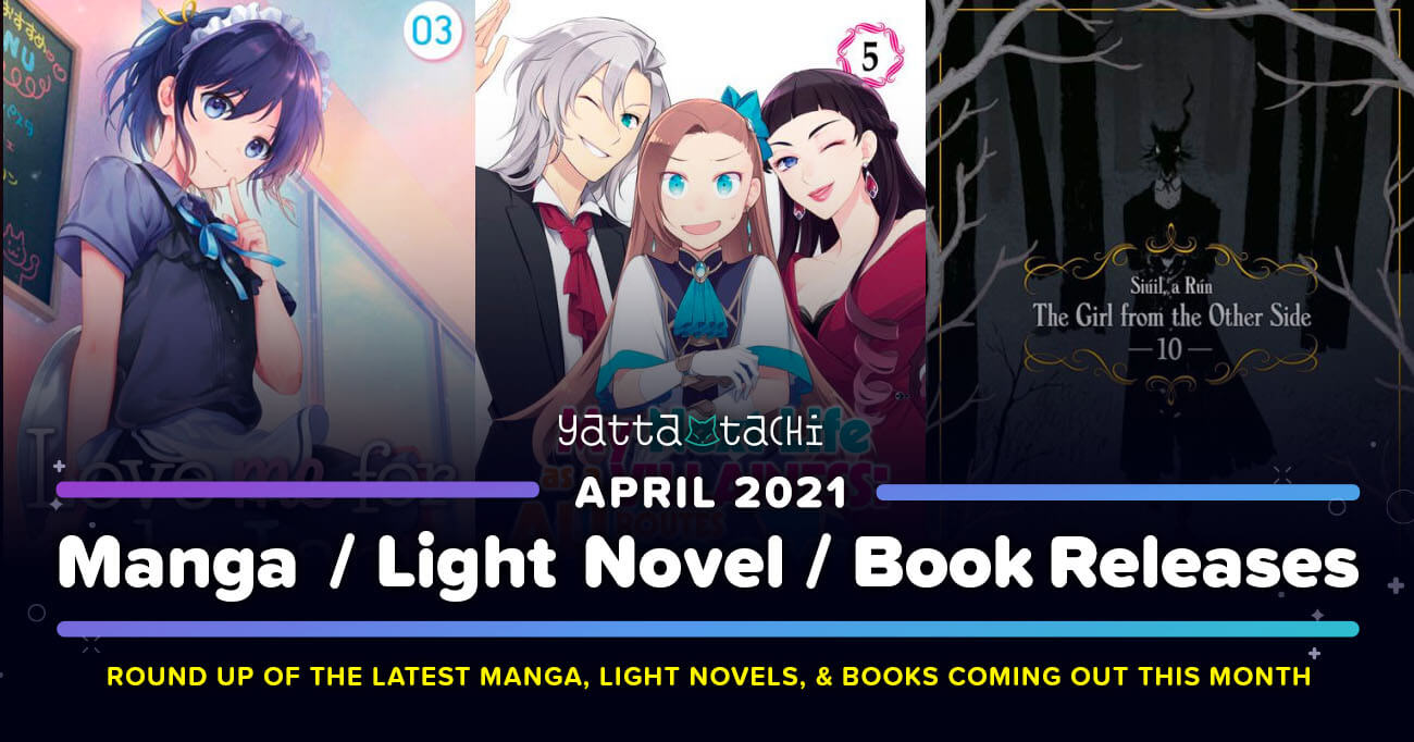 Featured image for April 2021 Manga / Light Novel / Book Releases List