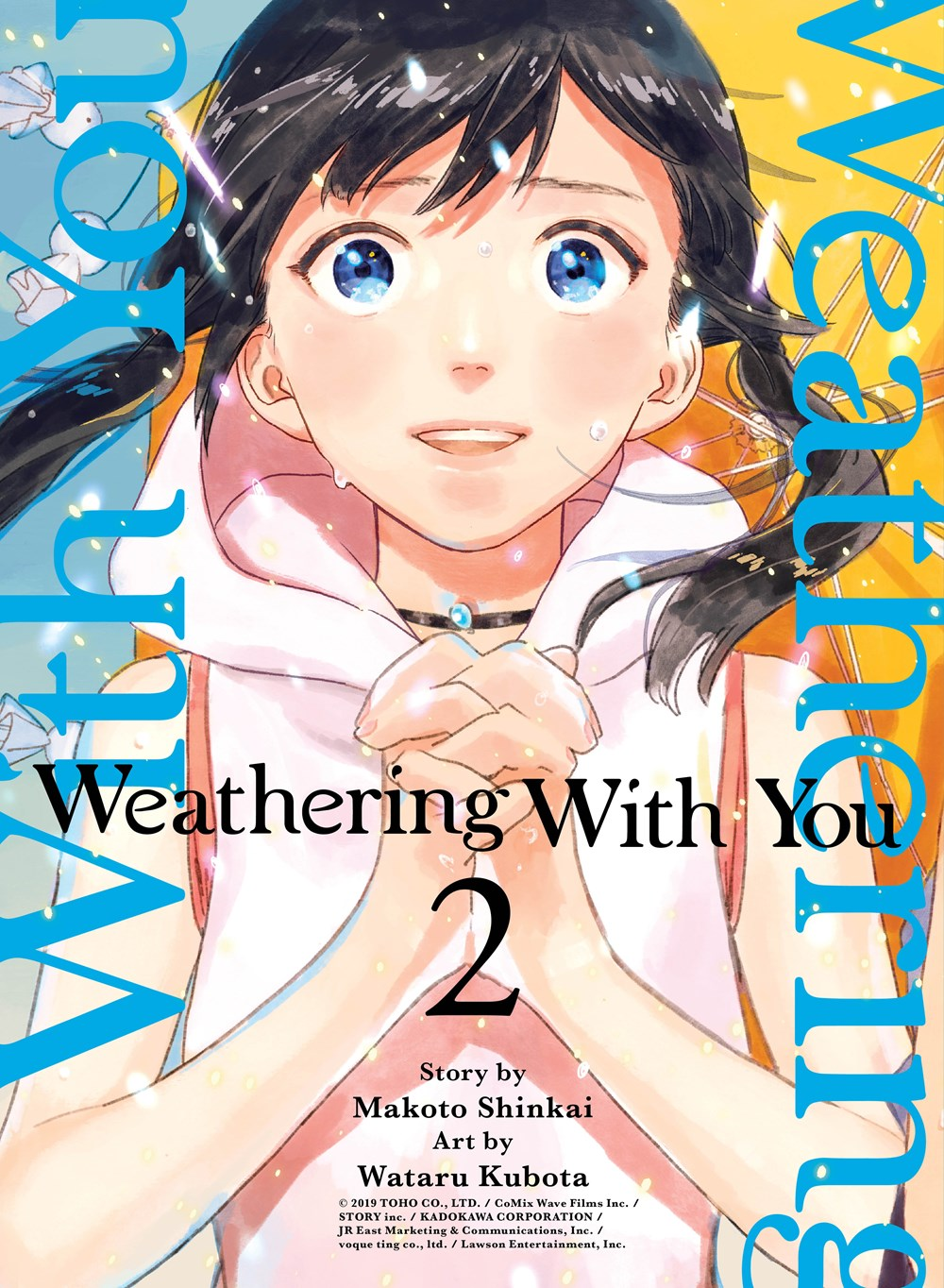Background image for Weathering With You Volume 2 Review