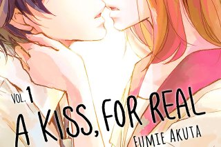 Featured image for Manga Review – A Kiss, For Real