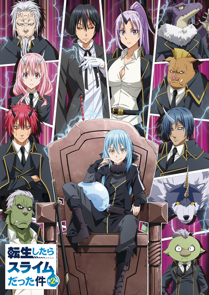 Featured image for That Time I got Reincarnated as a Slime Season 2: Second Cour: Mid Slime