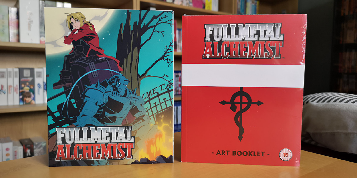 Featured image for Fullmetal Alchemist (2003 series) Parts 1 & 2 (Collector's Edition Blu-ray 2020 Ver.) Unboxing