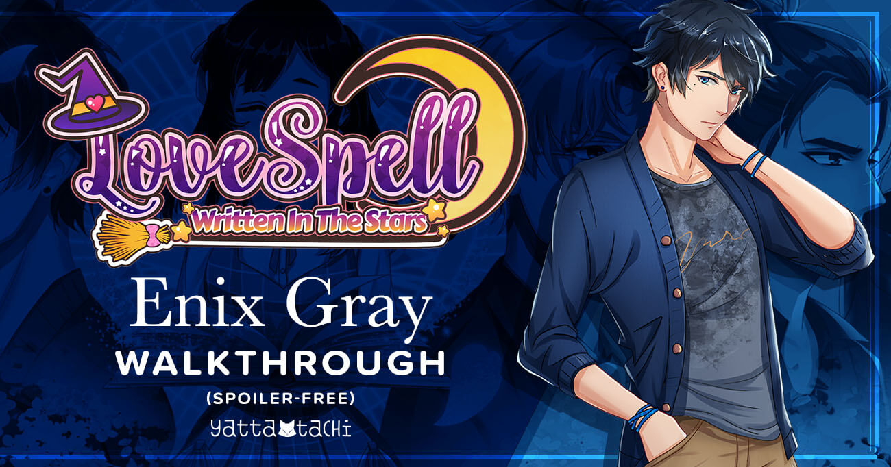 Featured image for Love Spell: Written in the Stars – Enix Gray Walkthrough