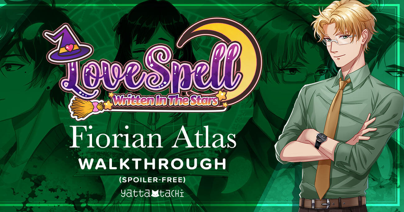 Featured image for Love Spell: Written in the Stars – Florian Atlas Walkthrough