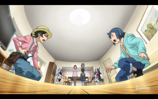 Featured image for Review: Gundam Build Fighters