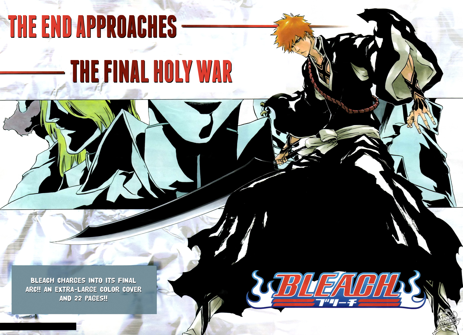 Featured image for Bleach is coming to an end?