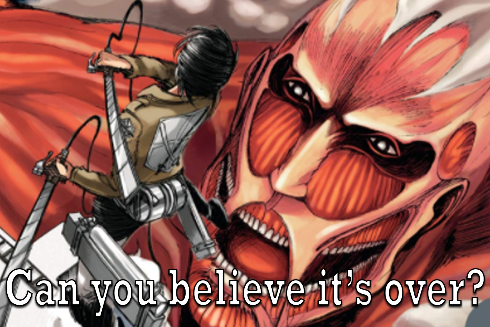 Featured image for Attack on Titan: A Mainstream Series That I… Love?