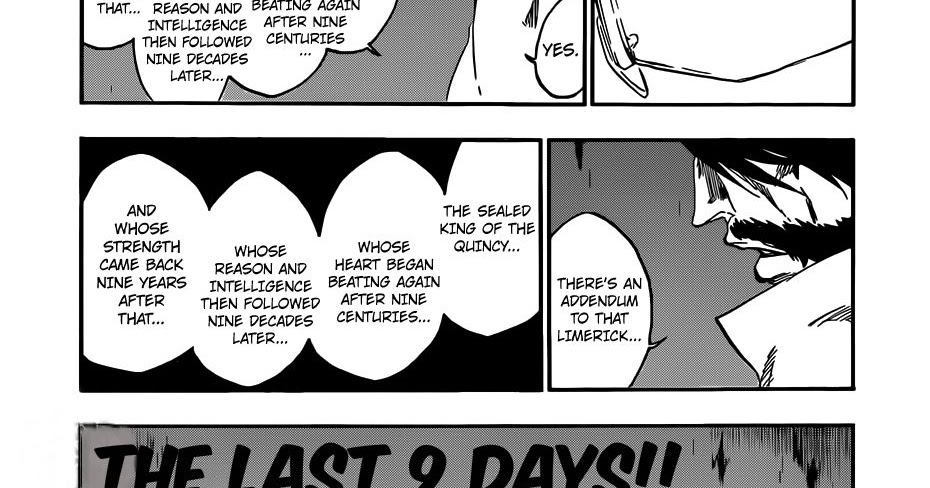 Featured image for Bleach Ch. 546: Nine Days