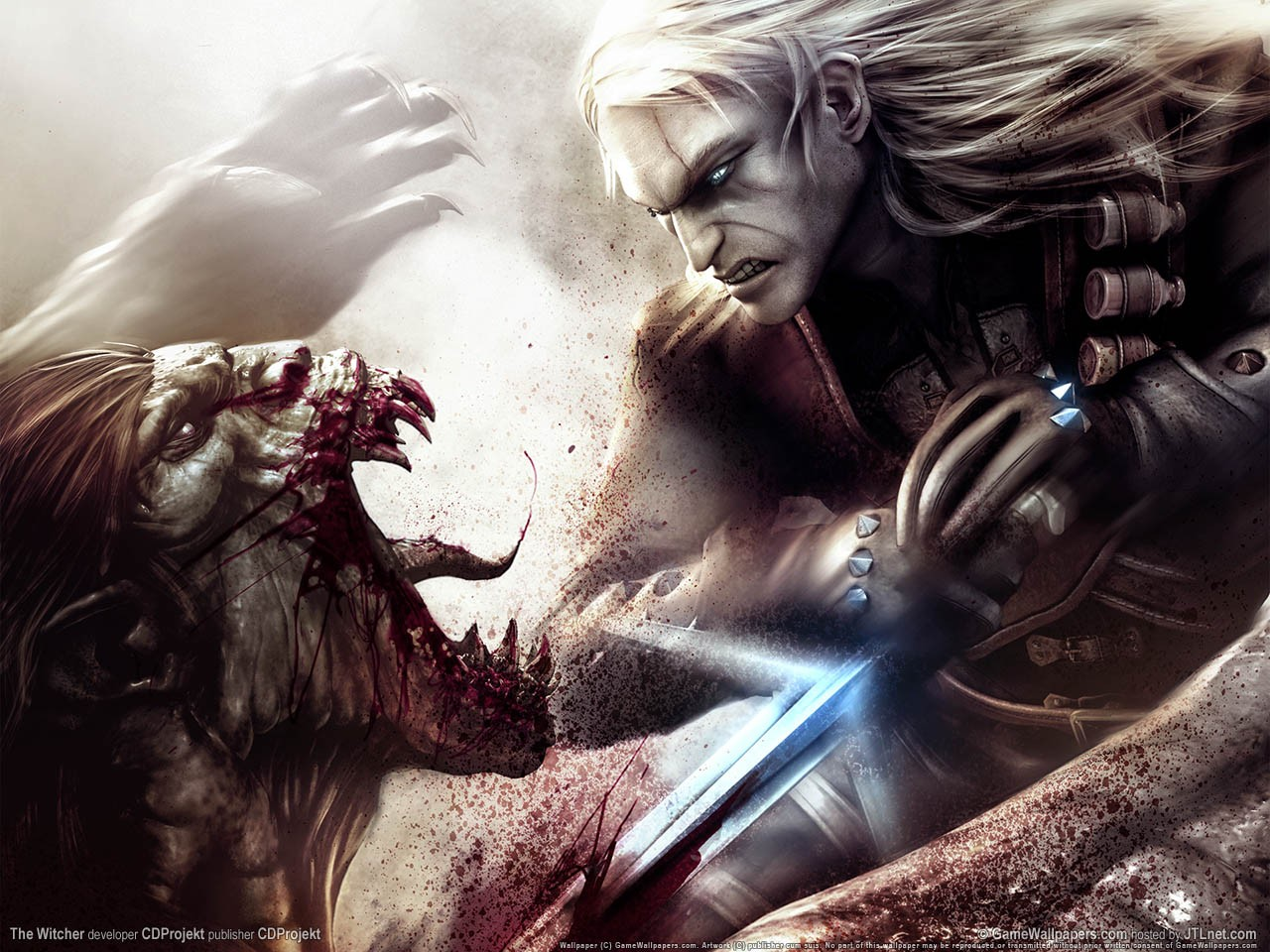 Featured image for The Witcher 2: Assassins of Kings// Chugging potions in style.