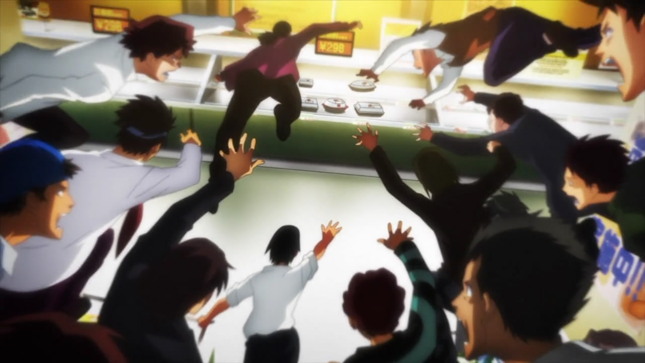 Featured image for Food For Thought? Because Food is all They Think About. [Ben-To Anime Review]