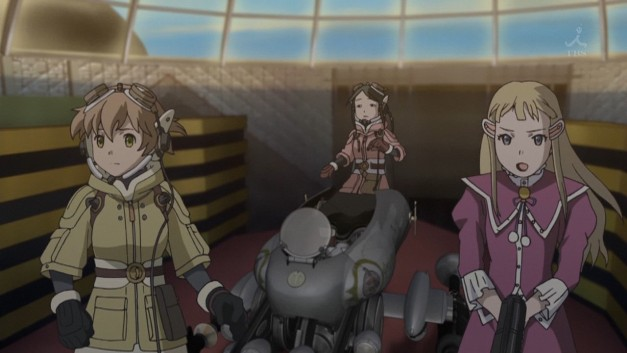 Featured image for Anime Review: Last Exile: Fam the Silver Wing Episode 2