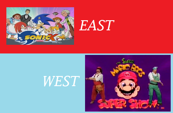 Featured image for East Meets West #4: Super Mario Bros. Super Show .vs. Sonic X