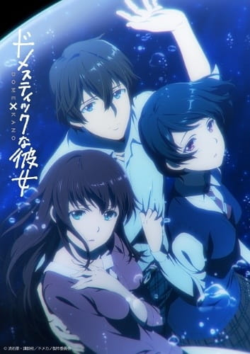 Featured image for Domestic na Kanojo (Anime Review)