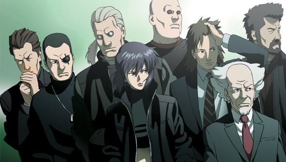 Featured image for Ghost in the Shell: Stand Alone Complex(Anime Review)