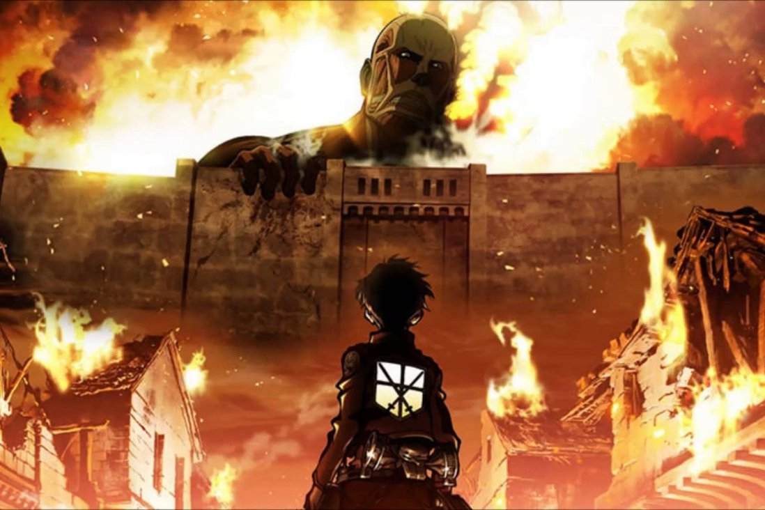 Featured image for Attack on titans (Anime Review) NO SPOILERS