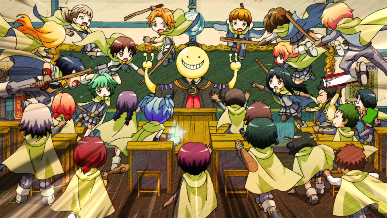 Featured image for Koro-sensei Quest! // First Impressions