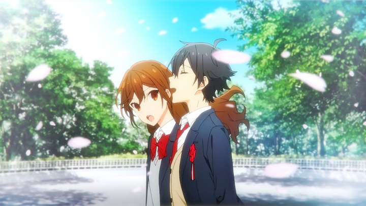 Featured image for Horimiya Anime Review