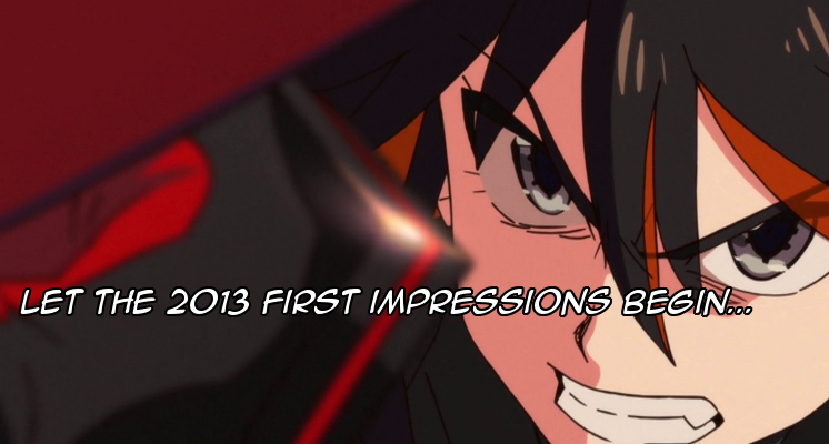 Featured image for 2013 Fall season First Impressions! Part 1