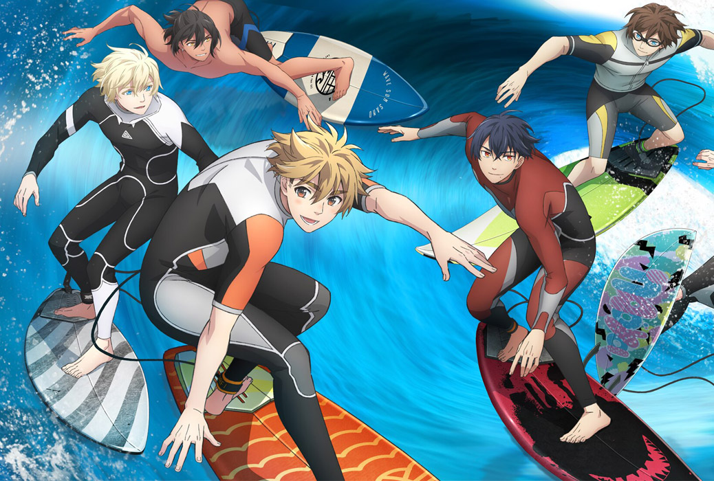 Featured image for Wave!! Let's Go Surfing!! – Anime Review