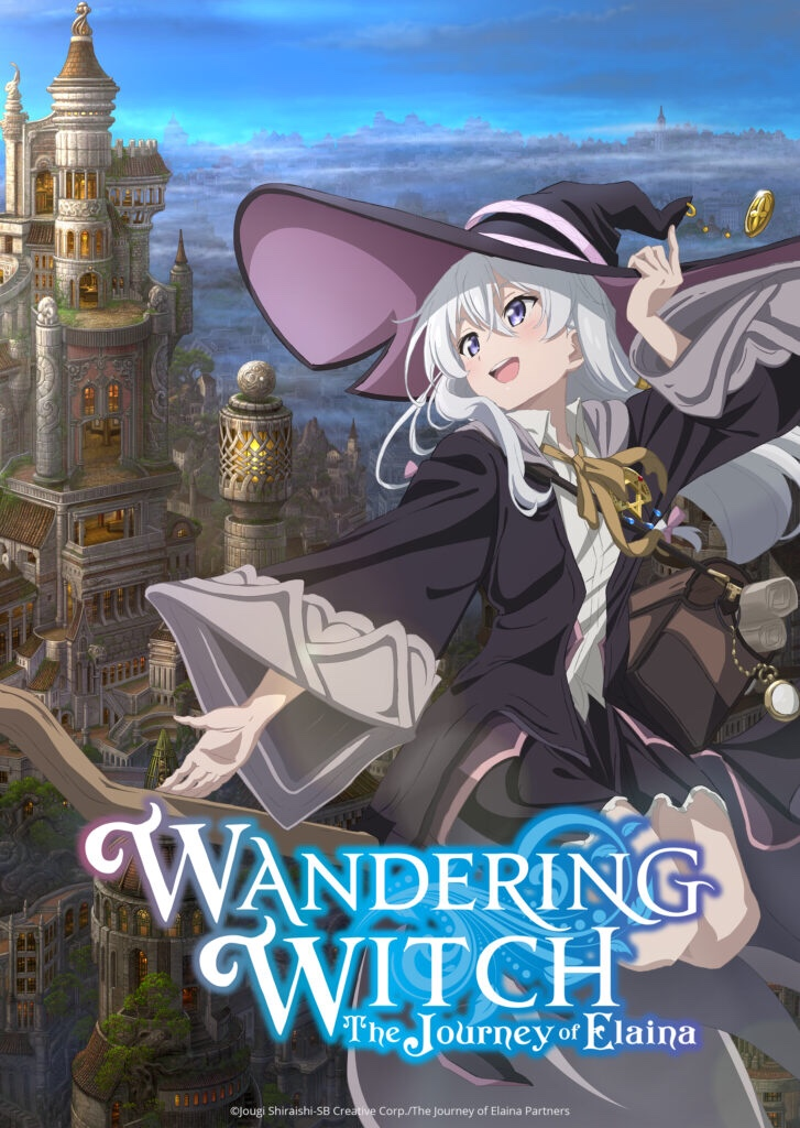 Featured image for Wandering Witch-The Journey of Elaina: The Adventures of a Magical Mary Sue