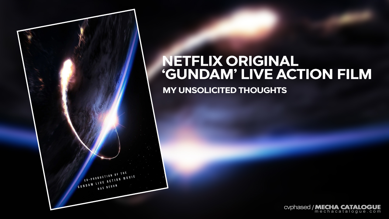 Featured image for My Unsolicited Thoughts: Netflix Original 'Gundam' Live Action Film