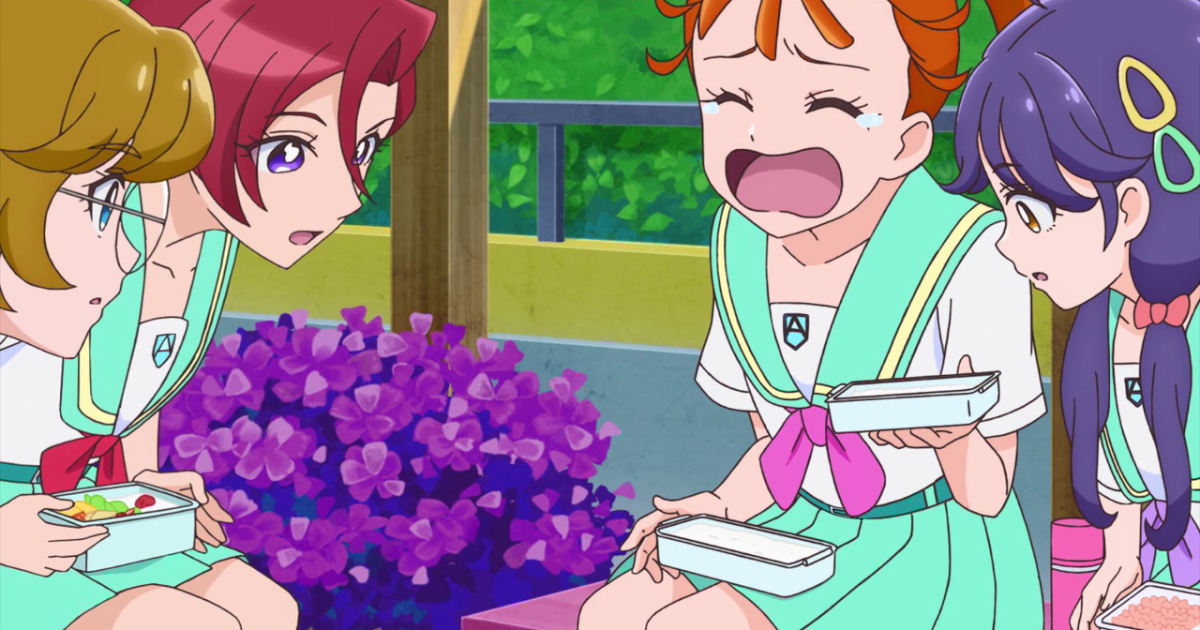 Featured image for Tropical Rouge Precure Ep 8 Review: Never Fight with an Empty Stomach!
