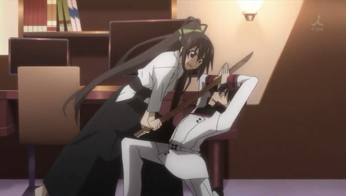Featured image for IS: Infinite Stratos 01 – She will need that Handicap