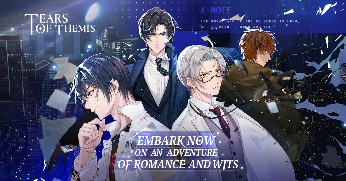 "Featured image for [Otome Watch] miHoYo Invites You to Beta Test Their New Romance Detective Game: ""Tears of Themis"""