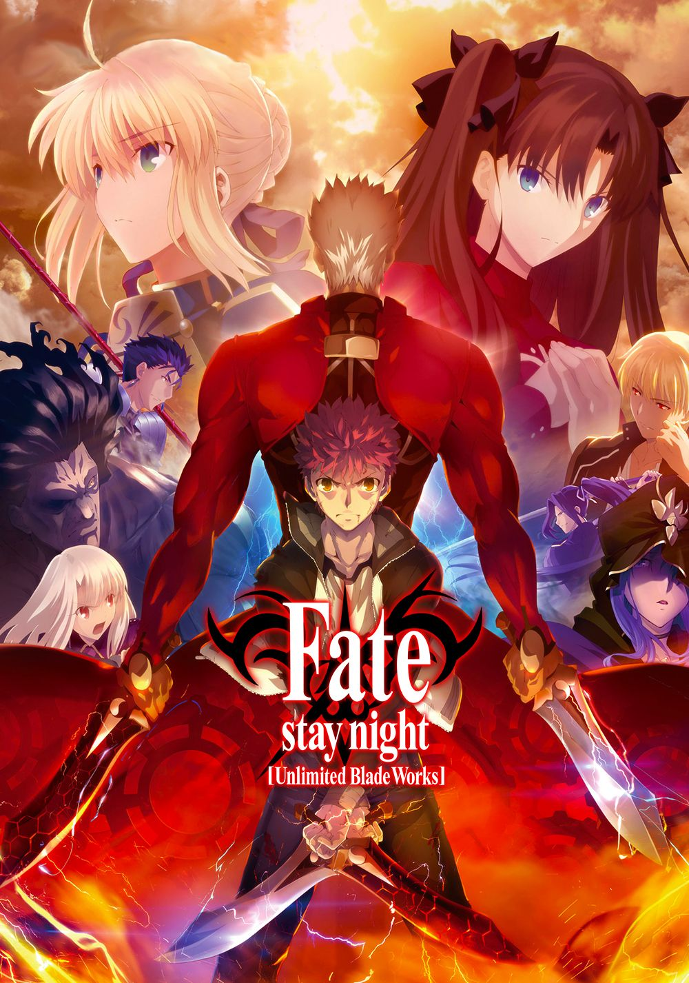 Featured image for Re-Dive: Fate/Stay Night: Unlimited Blade Works: Rock Solid, Four Times Strong.