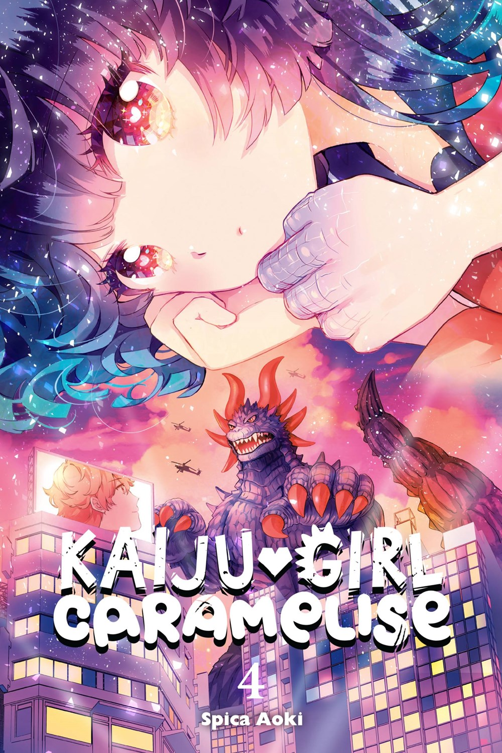 Background image for The Anti-Social Geniuses Review: Kaiju Girl Caramelise Volume 4