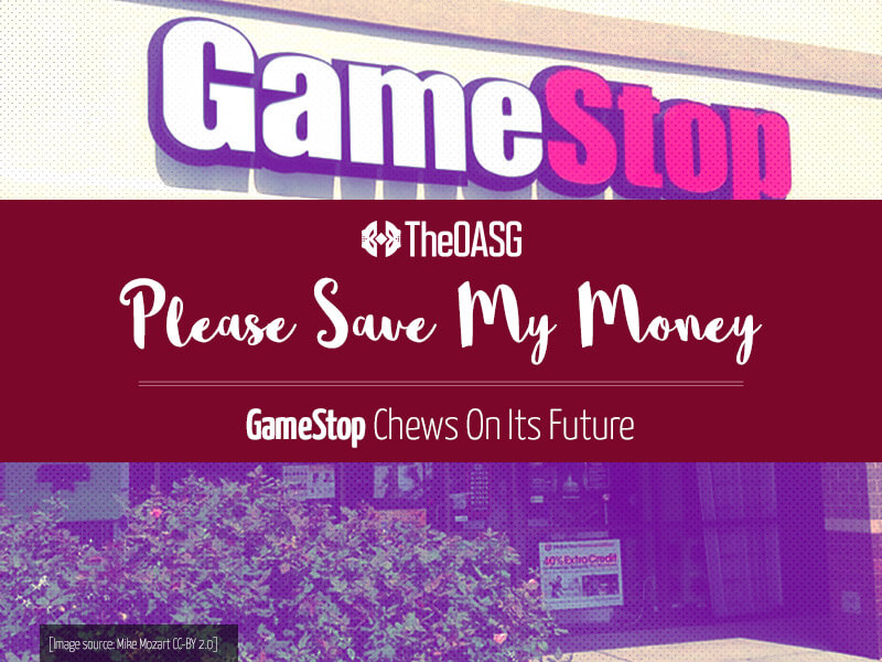 Background image for GameStop Chews On Its Future