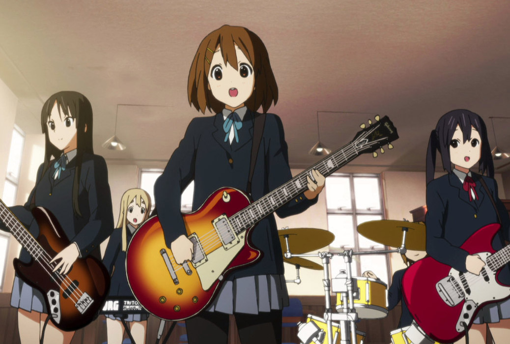 Featured image for K-On! – Anime Review