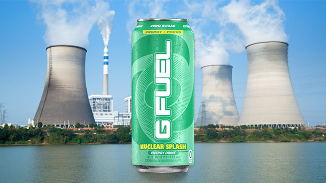 Featured image for Radioactive Water From Fukushima Plant to be Rebranded as Gaming Energy Drink