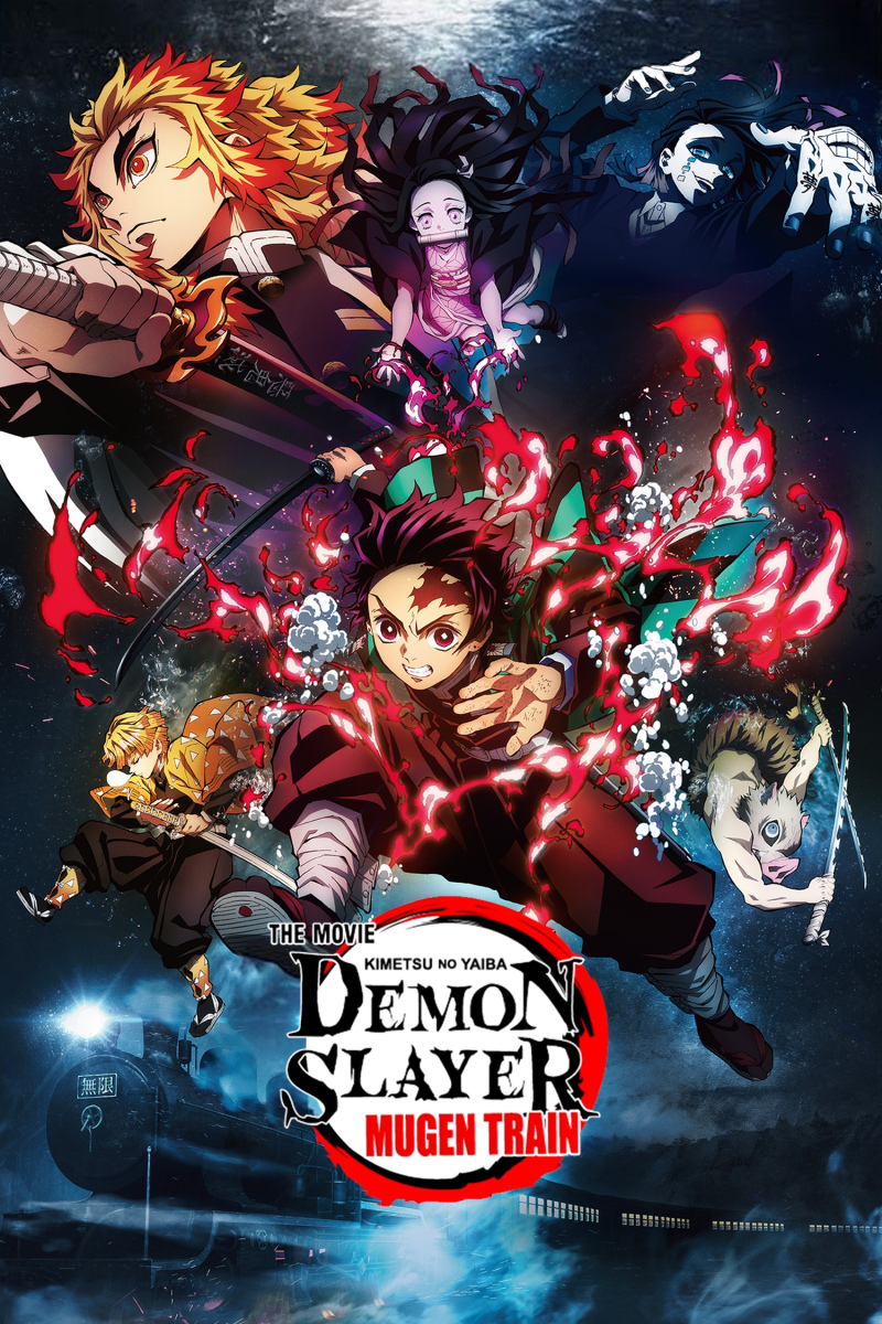 Featured image for Watching Demon Slayer Movie Mugen Train This Saturday!! (MY FIRST MOVIE IN A MOVIE THEATER SINCE COVID BEGAN!)